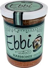 (16,60?/kg) Bio Hundefutter Harmonie 2x 400g Glas m. Huhn, Brokkoli u Alge/ Ebbi