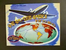 """2015 Unused Pan Am Calendar """"Latin America in 30s & 40s"""" Published by the PAHF"""