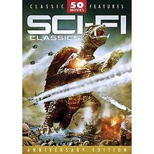 SCI-FI Classic 50 movies DVD Box Set 12 Discs NEW Region 4