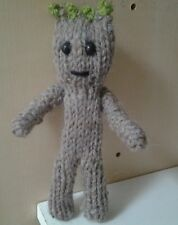 """BABY GROOT 6"""" hand knitted new groot with legs!! from guardians of the galaxy 2"""