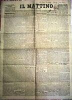 WW1 @ IL MATTINO DEL 15-16 MARZO 1908 - I FUNEBRI DI E. DE AMICIS - N. 807
