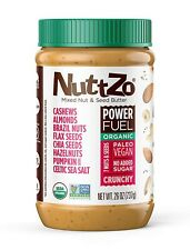 Nuttzo Organic Crunchy 7 Nut And Seed Butter (26oz)