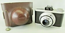 VINTAGE UNIVERSAL METEOR CAMERA WITH original CASE 1949