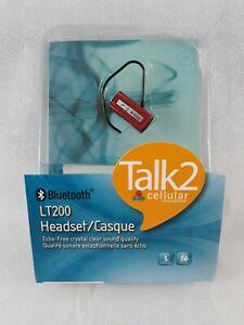 Cellular Innovations LT200 Red Bluetooth Headset