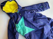 JAKO-O Toller blauer Schneeanzug Overall mit Stern Gr.80 86 TOP!