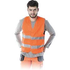 Warnweste Pannenweste Sicherheitsweste Signalweste Orange Gr. M - XXXXXXL NEU