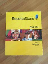 Rosetta Stone ENGLISCH-BRITISCH Stufe 1