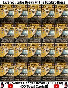 Tennessee Titans Break 342 20x Select Hanger Box Full Case 2020 Team