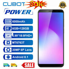 """Cubot Power 5.99"""" 4G Mobile Smart Phone Android Octa-Core 6GB+128GB 20MP 6000mAh"""