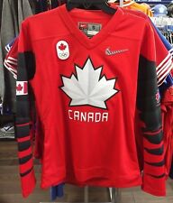 2018 Team Canada IIHF Hockey Olympic Red Jersey Player Women's/Ladies X-Large