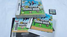 GENUINE SUPER MARIO BROS NINTENDO DS GAME DS DSI XL 2DS 3DS UK VERSION FREE POST