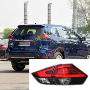2Pcs For Nissan X-Trail/Rogue 2017-2018 Rear Right Tail Lamp Brake Light Signal