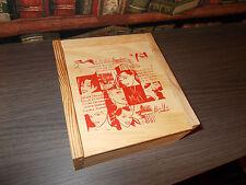 Walter Minus-Coffret bois 16 dessins inédits-Ex.signé et numéroté