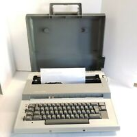 Vintage Smith Corona Electric Typewriter Model 5L  & Carrying Case Clean