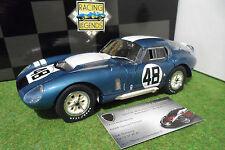 SHELBY COBRA DAYTONA Coupé 48 Bondurant Grant WINNER Monza 1965 1/18 EXOTO 18014
