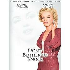 Don't Bother to Knock (DVD, 2004, Marilyn Monroe Diamond Collection; Sensormatic
