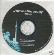(489Q) James & Sawer, Berlin - DJ CD