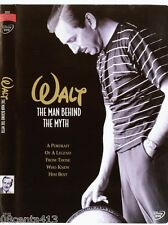 Walt - The Man Behind the Myth (DVD) Examine Disney's Legacy & Life Accurately!