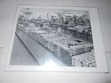 #1634 PHOTO NEGATIVE -  ADVERTISING - 1959 RIPPIN GOOD COOKIES - MURPHY STORE