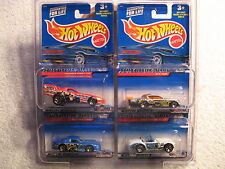2000 HW Hotwheels SPEED BLASTER Series 4 Car with 4way Protector Shelby Cobra