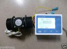 """1.5"""" Flow Water Sensor Meter+Digital LCD Display control 1-120L/min"""