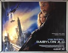 Cinema Poster: BABYLON A.D. 2008 (Quad) Vin Diesel Michelle Yeoh Mark Strong