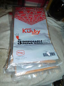 15 Kirby Disposable Vacuum Cleaner Bags Style #2  5 Packs of 3 each