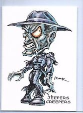 JEEPERS CREEPERS ** TRADING CARD ART SIGNED by RAK ** HORROR ** NM SEE MY STORE