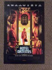 Hotel Artemis Promo Movie Poster 11 X 17 New Jeff Goldblum Jodie Foster I#577