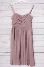 s.Oliver Premium Damen Bustier Kleid Knielang rosa Gr. 34