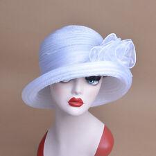 Womens Bowler Cloche Royal Ascot Ladies' Day Downton Abbey Style Sun Hat A267
