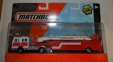 NEW Matchbox On A Mission Real Working Rigs - Mega Ton Fire Truck (CNN)