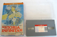 LA STORIA INFINITA 3 The NeverEnding Story III (1994) VHS ORIGINALE 1ª EDIZIONE
