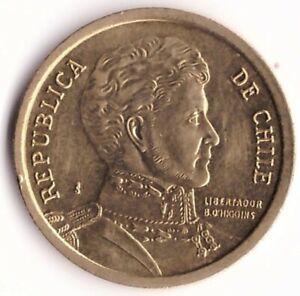 10 Pesos 2012 Chile Coin KM#228.2 - Bernardo O'Higgins