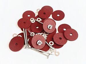 Cotter-pin Joints - Teddy Bear - 15mm 20 PK - Mohair Fabric Bears -  Bear Making