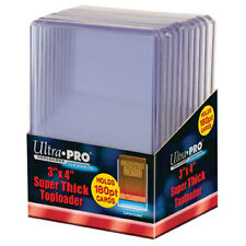 """ULTRA PRO Top Loader - 3"""" x 4"""" 180pt NEW Gaming Trading Cards Storage"""
