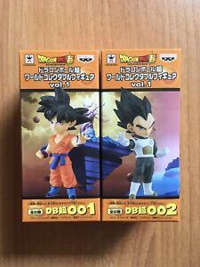 Figurines WCF Dragon Ball Goku Vegeta Figure