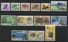 Malawi 1st definitive complete set mint o.g. hinged