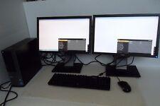 """Dell Optiplex 7010 Intel Core i7 (3rd Gen) 3.40GHz 8GB 1TB Wi-Fi w/19"""" Monitors"""