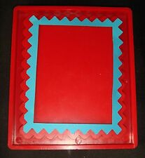 Sizzix BIG Red Die Zig Zag Frame Ellison 38-0164 Cuttlebug ZigZag Scrapbooking