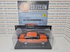 Seat 131 CLX 2000 Supermirafiori 1980 - SALVAT SEAT COLECCION 1:24