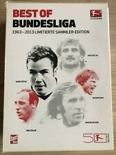 7 DVDs Best of Bundesliga 1963 - 2013  Limitierte Sammler-Edition