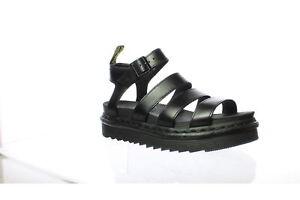 Dr. Martens Womens Nartilla Black Sandals Size 8 (757909)