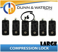 Large Black Compression Lock / Handle / Latch (Pop Omega Trailer Canopy ) x6
