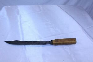 """Vintage Carving Knife with Stag Handle 9 1/4"""" Blade Length"""