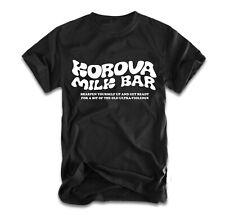 Korova Milk Bar T-Shirt A Clockwork Orange Stanley Kubrick Ultraviolence Alex