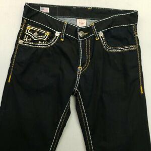 True Religion  Mens  Jeans W35 L31 Blue Regular Straight