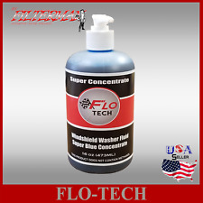 FLO-TECH :16OZ BLUE(SUPER CONCENTRATE)~~CAR WINDSHIELD WASHER FLUID MAKES 100GAL
