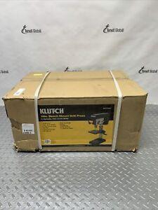 Klutch Benchtop Drill Press 5-Speed, 10in., 1/2 HP, 120V 49382 Q-17