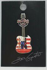 "Hard Rock Cafe -Vintage HRC Macau Bruce Springsteen ""Born In The USA"" Guitar Pin"